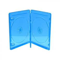 BluRay Box for 3 Discos 14mm Azul MediaRange