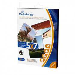 MediaRange 130x180mm Photo Paper Cards for inkjet printers, high-glossy coated, 220g, 50 sheets