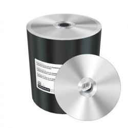 Prof. Line CD-R 700MB|80min 52x speed, silver, unprinted/blank, wide sputtered, diamond dye, Shrink 100