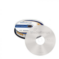 MediaRange DVD+R 4.7GB|120min 16x speed, Cake 10