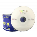 CD-R Princo Budget 52x 700MB/80M - Pack 50
