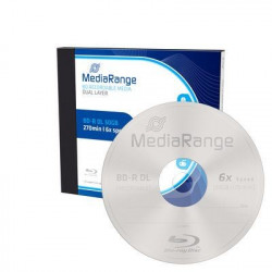 MediaRange BD-R Dual Layer 50GB 6x speed, single jewelcase