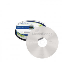 MediaRange DVD-R 4.7GB | 120min 16x speed, Cake 10
