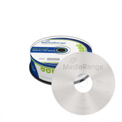 MediaRange DVD-R 4.7GB|120min 16x speed, Cake 25