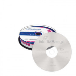 CD-R 52x 700MB MediaRange Pack 10 uds