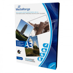 MediaRange DIN A3 Photo Paper for inkjet printers, high-glossy coated, 200g, 50 sheets