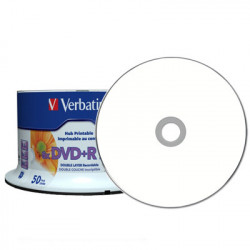 DVD+R DL Verbatim 8x Dual Layer Printable 50 uds