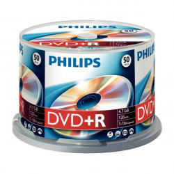Philips DVD+R 4,7GB 16x 50 unidades