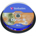 Verbatim DVD-R AZO 4.7GB 16X LIGHTSCRIBE SURFACE VERSION 1.2 Cake 10