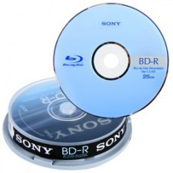 BD-R Sony 25GB 6X Speed PACK 10