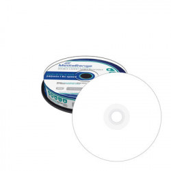 MediaRange DVD+R Double Layer 8.5GB 240min 8x speed, inkjet fullsurface printable, Cake 10