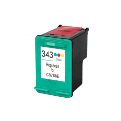 HP 343 Color Cartucho Compatible - C8766EE