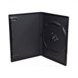 14mm DVD Box for 1 DVD black MediaRange