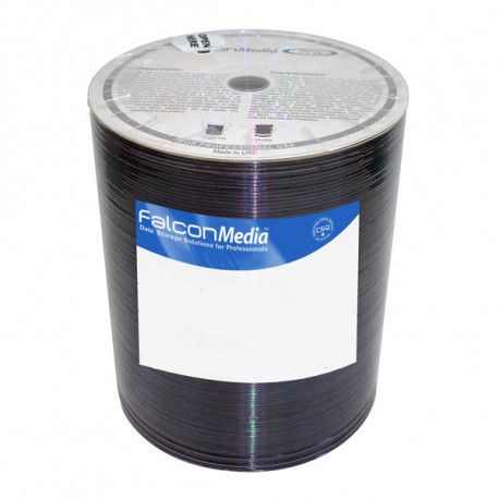 FalconMedia Pro Basic CD-R 700MB|80min 52x speed,Codonics inkjet white hub, BOS 100HP
