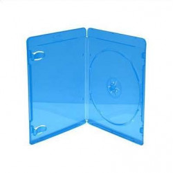Caixa BluRay para 1 Disco 11mm Azul MediaRange